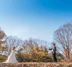代々木公園 秋フォトウェディング