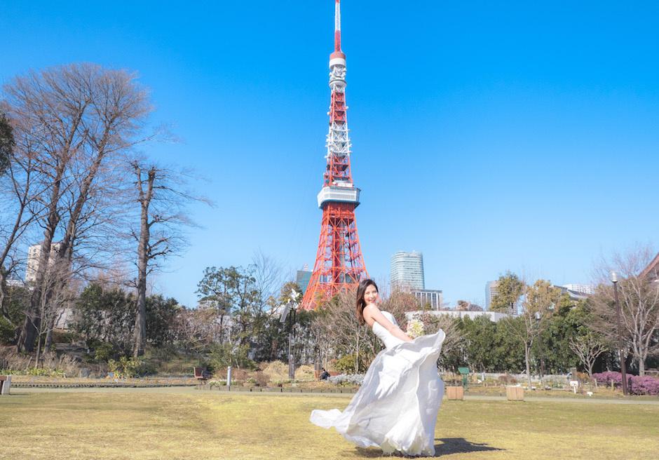 東京タワー(芝公園)フォトウェディング&前撮り