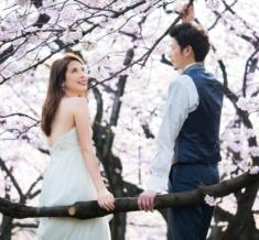 代々木公園 桜フォトウェディング